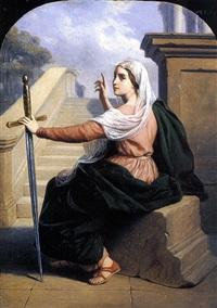 sainte victoire by jean-baptiste auguste leloir