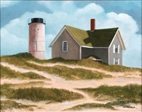 sandy neck light by marieluise hutchinson
