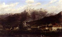the valley of the inn by carl von zellenberg