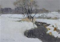 zeitiger frühling by vladimir aleksandrovich igoshev