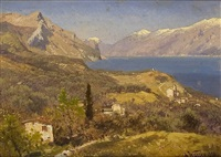 am gardasee by adalbert waagen