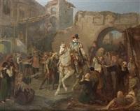 l'arrivée d'henri iv à paris by alexandre-évariste fragonard
