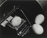 eggs and slicer by edward weston