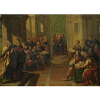 christ and the doctors in the temple by frans francken the elder