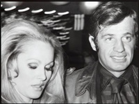 ursula andress i jean paul belmondo by alain quemper