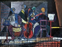 the musicians by avraham naton