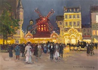 le moulin rouge by edouard léon cortès