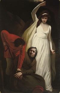 a scene from alain-rené lesage's gil blas by john opie