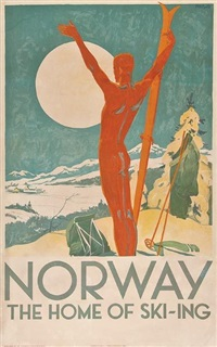 norway. the home of ski-ing by trygve m. davidsen