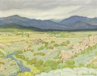 around the arroyo hondo by ernest martin hennings