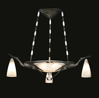 cigognes chandelier by albert cheuret