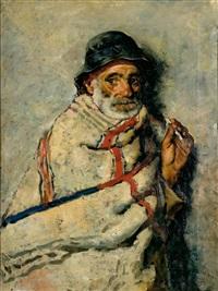 anciano fumando by joaquín araujo ruano