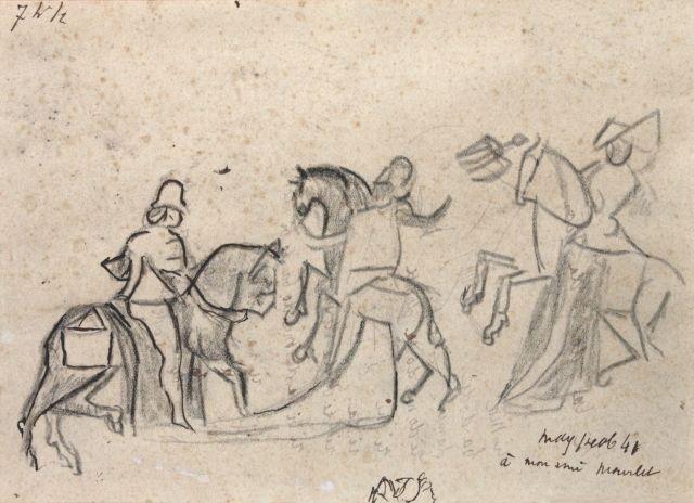 cavalier cavalières by max jacob