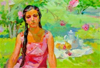 in the garden by zhenia arutyunyan