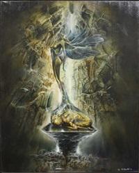 composition surréaliste by yannig germain