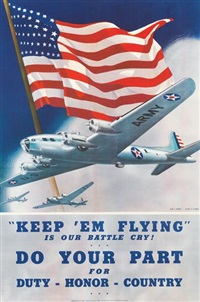 keep 'em flying, do your part by albro f. downe and dan v. smith