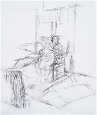 la madre dell'artista seduta by alberto giacometti