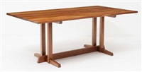 table de salle à manger modèle frenchman's cove by george nakashima