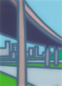 freeway - exit by howard arkley