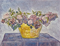 bouquet de roses by albert trachsel