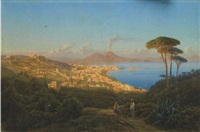 napoli dalla collina di posillipo by juan grossgasteiger