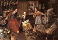 christus im hause von maria und martha by joost goemare