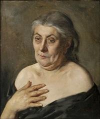 vanha nainen by maria wiik
