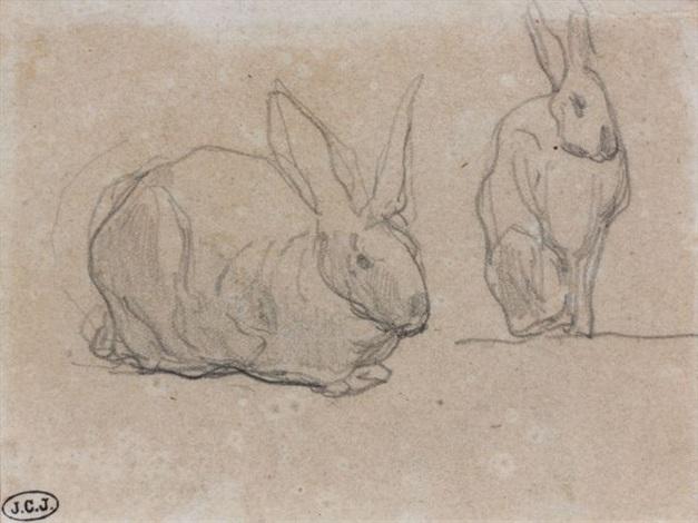 les lapins by eugène boudin