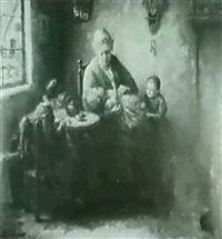 tending to the children by hans eybergen