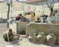 washerwomen by charles frederick ulrich