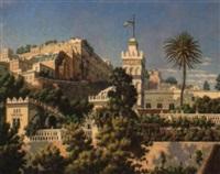 la mosquée sidi abd-er-rhaman à alger by h. garnier