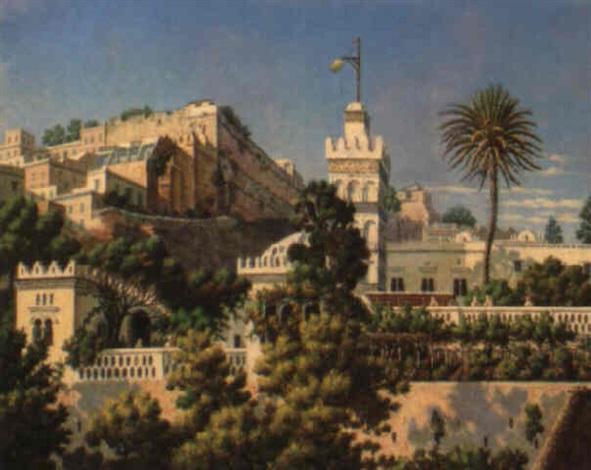 la mosquée sidi abd er rhaman à alger by h garnier