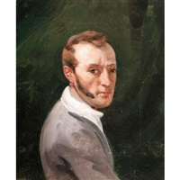 portrait du peintre horace vernet by joseph simon volmar