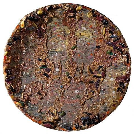 crocker series plate by viola frey