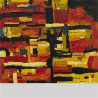 abstract no. 9 by fritz brandtner