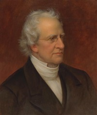 portrait of charles hodge by rembrandt peale