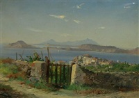 bay of puzzuoli, italy by carl hasse