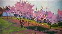 le verger un fleurs by mikhail akinchine