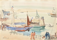 port at douarnenez by max arnold