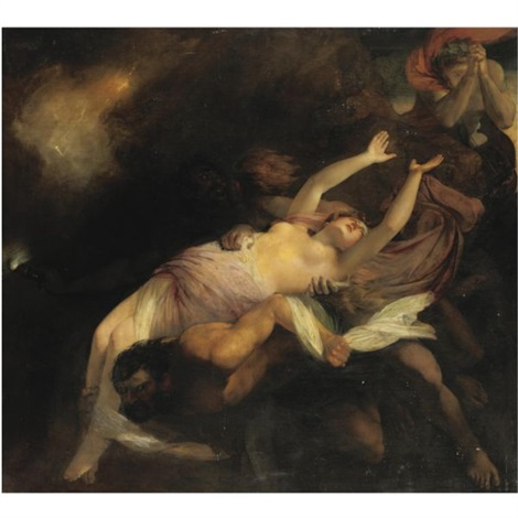eurydice hurried back to the infernal regions by henry thomson