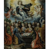 the assumption of the virgin by gregorio gamarra