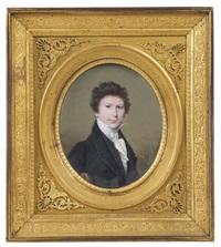portrait de f.e. mathieu (1802-1897) by louis ami arlaud-jurine