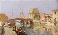 barques à venise by tina blau-lang