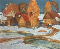 environ de kolomenskoye by victor smirnov