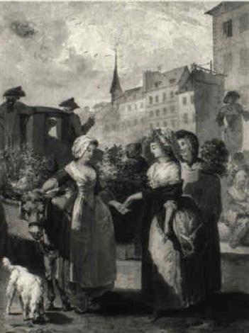 la marchande de fleurs by antoine louis françois sergent marceau