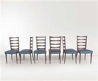 sei sedie by paolo buffa