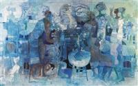 symphony in blue by omar el-nagdi
