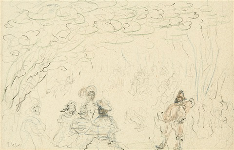 jardin damour by james ensor