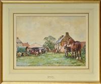 egton horse fair by john gunson atkinson