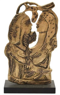 le jeune couple by corneille